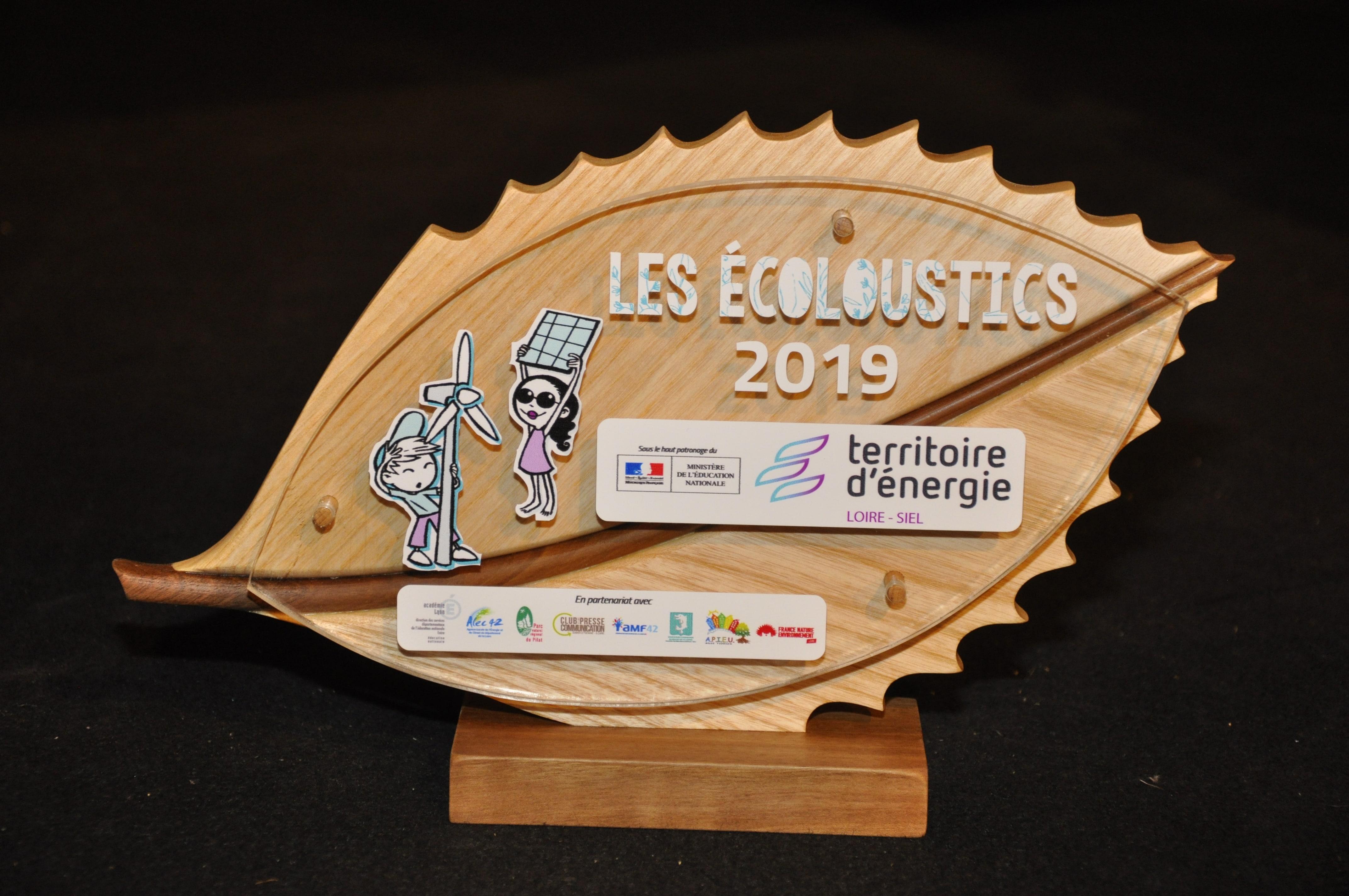 Trophée Les Écoloustics 2019