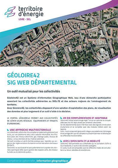 Géoloire42 SIG Web départemental
