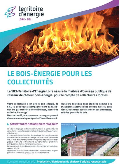 Le bois-énergie pour les collectivités
