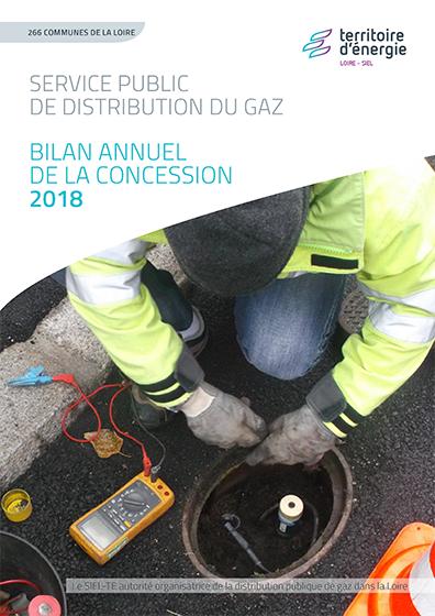 Bilan annuel concession gaz 2018