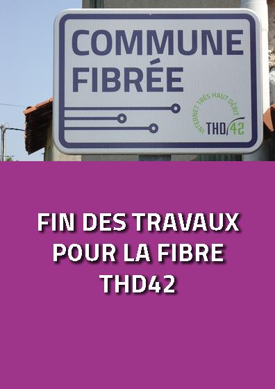Fin des travaux pour la fibre THD42