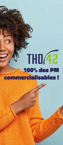 FIBRE THD42 : 100% des PM sont commercialisables