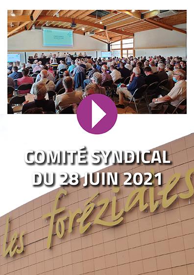 Comité syndical du 28 juin 2021