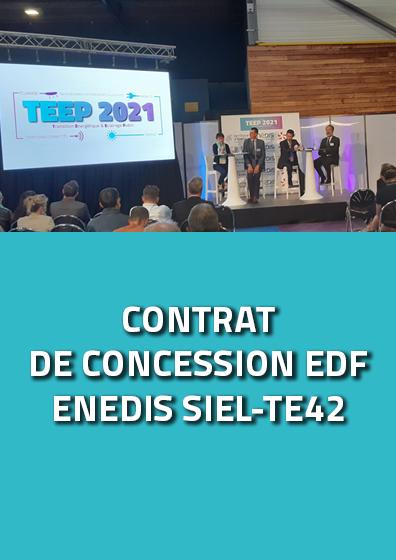 Présentation contrat de concession ENEDIS / EDF / SIEL-TE42