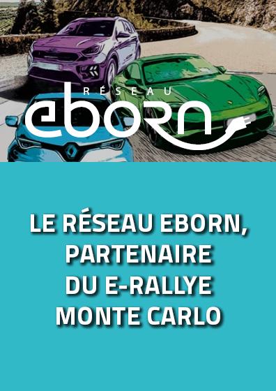 Eborn, partenaire du e-rallye monte-carlo